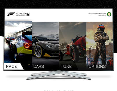 Forza Motorsport 7 Game Interface