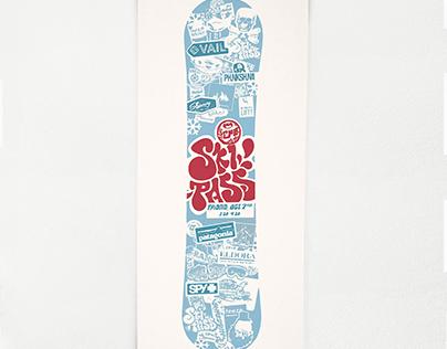 Ski Pass Event Poster