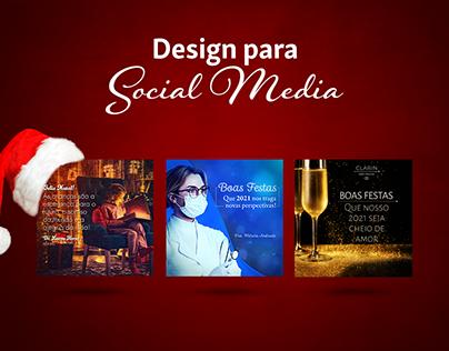 Social Media - Boas Festas