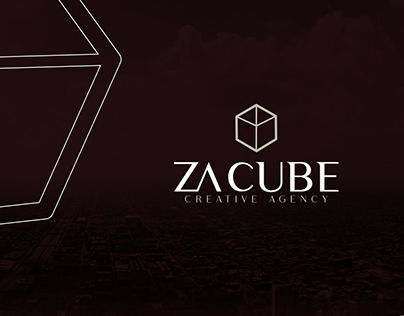 ZA CUBE branding