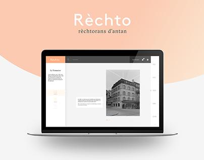 Rèchto // UI