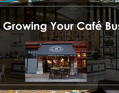 Growing Cafe Business - cafe equipment & coffee machine