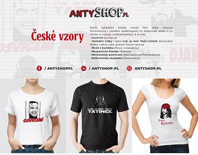 Antyshop.pl - České vzory