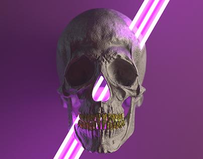 Laser Skull