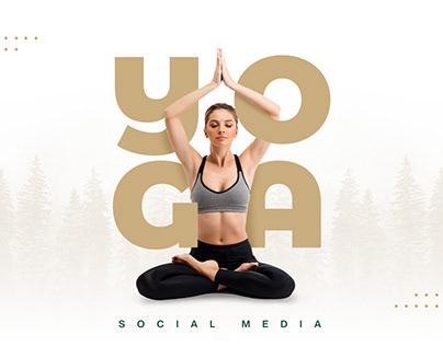 Yoga   Social Media Design