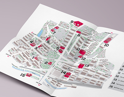 City map/Zlin