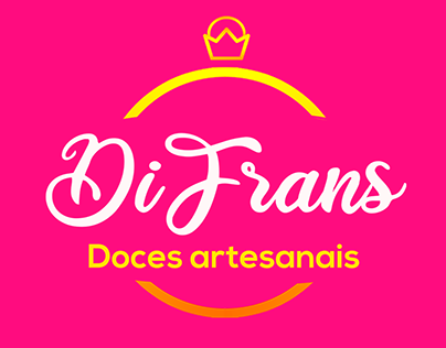 Di Frans - Doces artesanais   Identidade visual