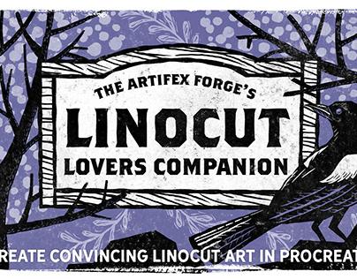 The Linocut Lovers Companion – Procreate