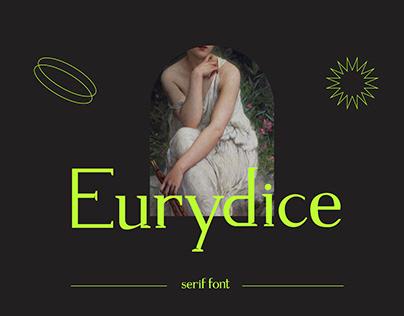 Eurydice - serif font