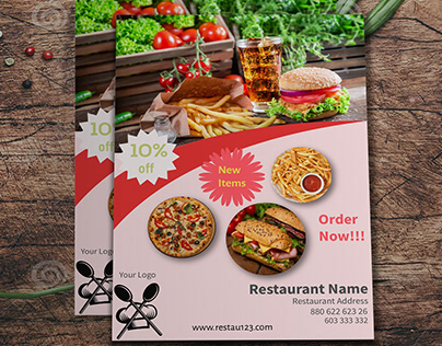 Flyer-Restaurant Type