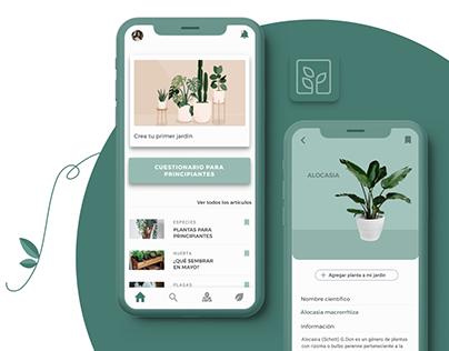 App Jardinería Urbana | Proyecto UX/UI