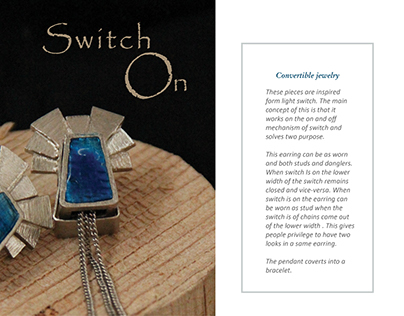 Switch on (Convertible jewelry)