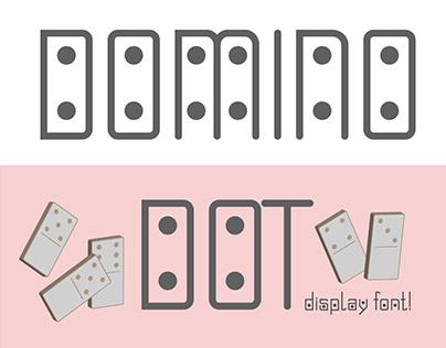 Domino-dot font duo!