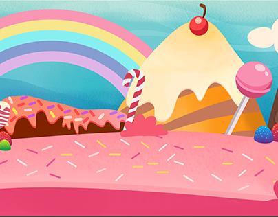 Ilustração para Game - Granny Lala
