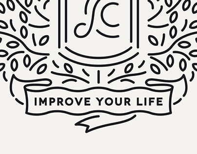 Improve Your Life. Coat of Arms.