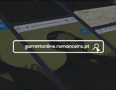 Vídeo de Apresentação do Projeto Garrett Online