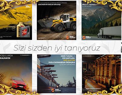Huner Otomotiv | Social Media Post Design
