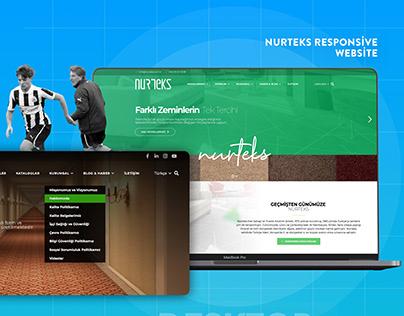 Nurteks Responsive Website