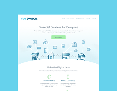 Web design & style guide — Payswitch