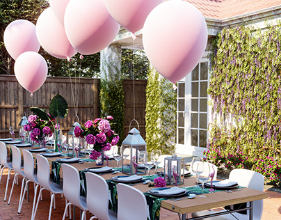 Surprise Party in Pink
