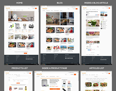 The Cookingtool website project full and 100% done