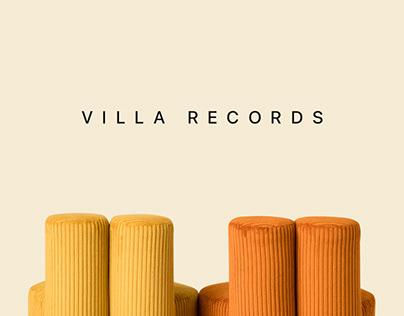 VILLA RECORDS-Interaction design