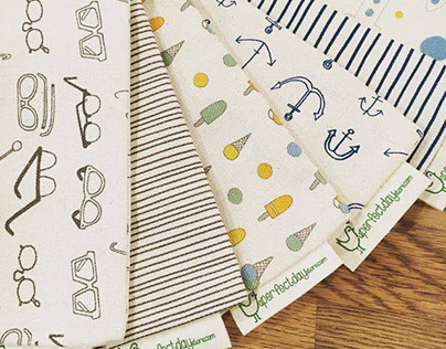 Logo, branding, fabric design - A Perfect Day
