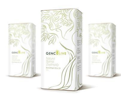 Olive Oil Package Design Zeytinyağı Teneke Tasarımı