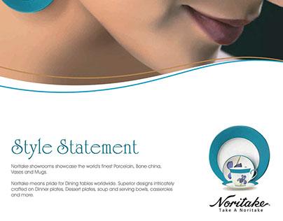 Noritake Ad