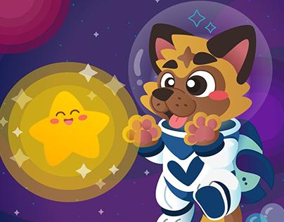 Vectornator Pro - Cosmos Doggo