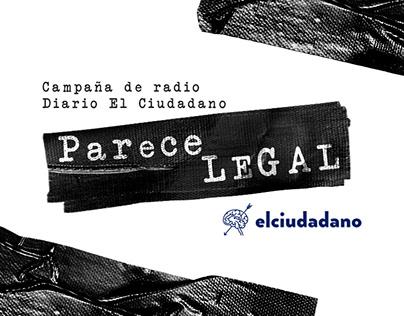 Campaña de radio - Diario El Ciudadano