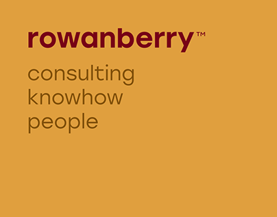 rowanberry — rebranding