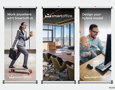 Smartoffice Hibrit Ofis Modeli Roll Up