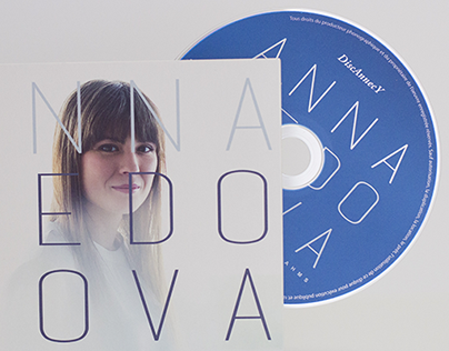 CD COVER - ANNA FEDOROVA