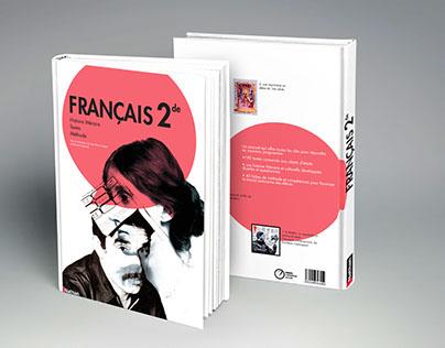 Couverture de livre de français