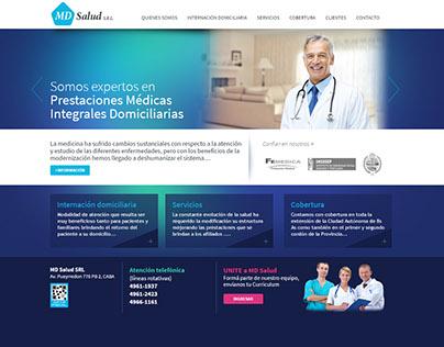 MdSalud, Logo & Web