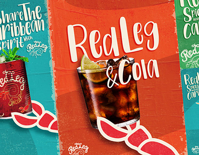RedLeg Spiced Rum infused with Caribbean spirit.