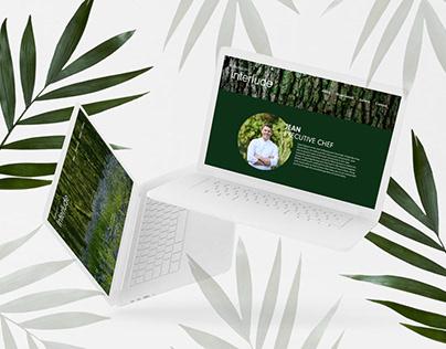 Restaurant Interlude branding & web design
