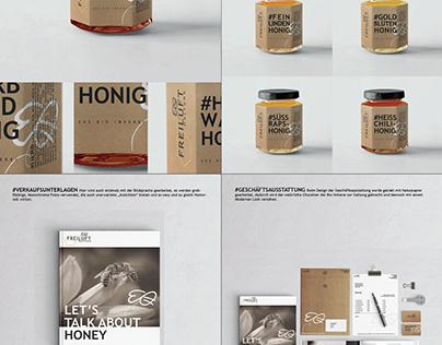 Graphic design - Honey