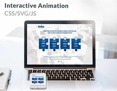 Interactive Animation CSS/SVG/JS