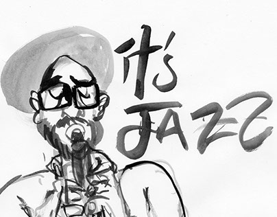 """Its Jazz"" inktober 2015"