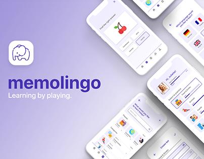 memolingo - language learning app