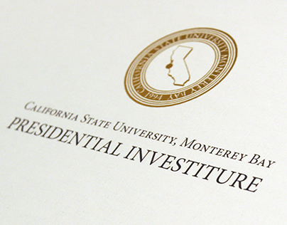 Cal State Monterey Bay Presidential Investiture