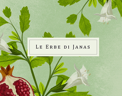 Le Erbe di Janas // Packaging