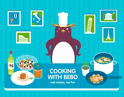 Cooking with Bebo game