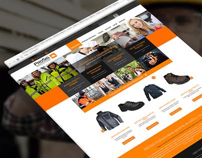 Prosig Logo and Webshop