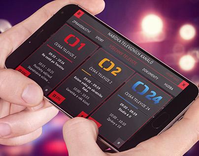 TV Streaming Mobile App