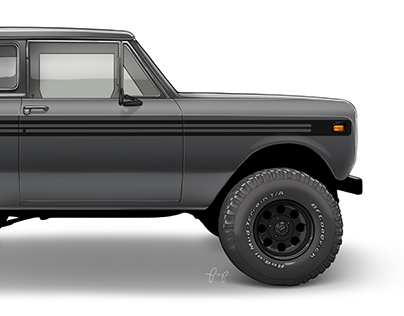 International Scout II Render