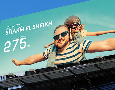 Travel to Sharm El Sheikh Outdoor Campaign