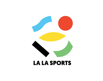 LA LA SPORTS identity